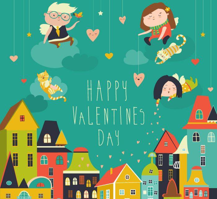Print Heart Valentines Day